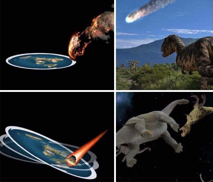 Name:  FlatEarth_Dinosaurs.jpg Views: 914 Size:  87.2 KB